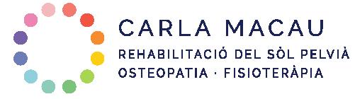 Carla Macau · Fisioteràpia del sòl pelvià · Caldes de Montbui Logo